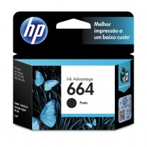 HP 664 Black Ink Cartridge (Brazil)