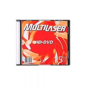 HD-DVD 15GB 1x – Multilaser